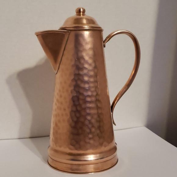 VTG Signed Gregorian Copper Kettle